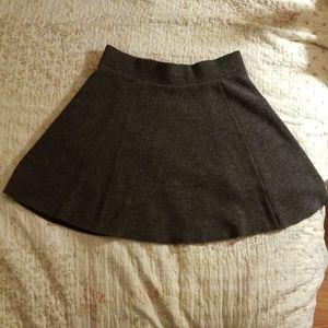 Warm grey skirt